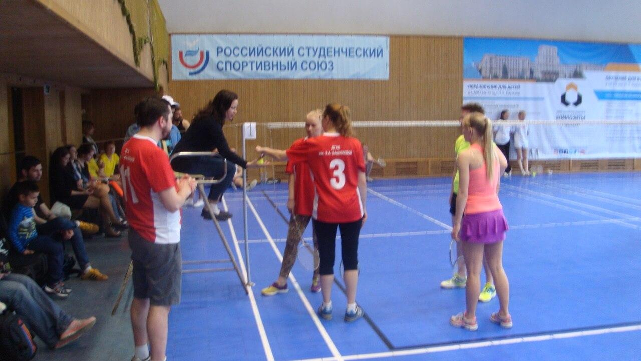 Пятый турнир по бадминтону среди команд медицинских работников г.Москвы