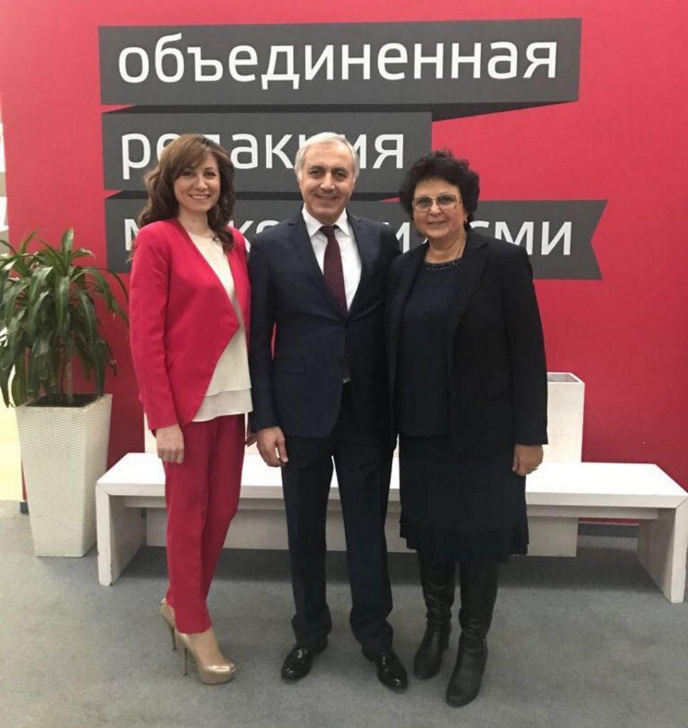 Выступление главного врача Османова И.М. на телеканале Москва-24