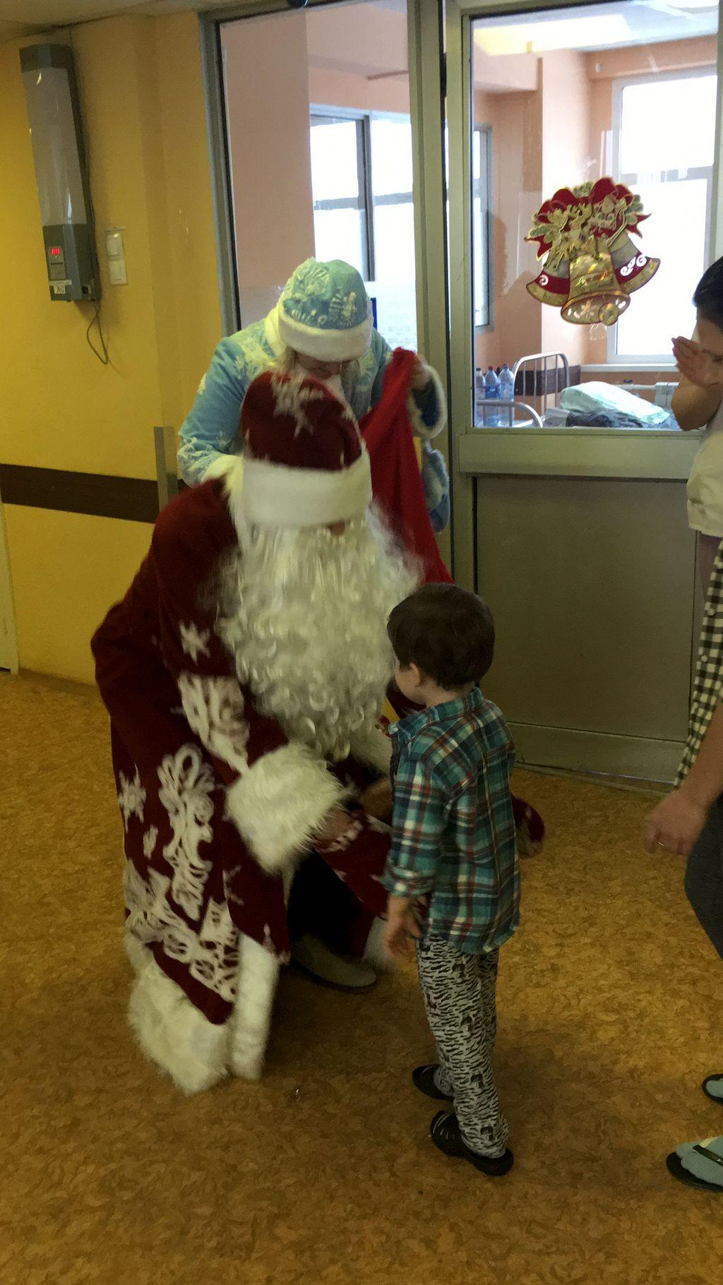 Поздравление Деда Мороза и Снегурочки Поздравление Деда Мороза и Снегурочки