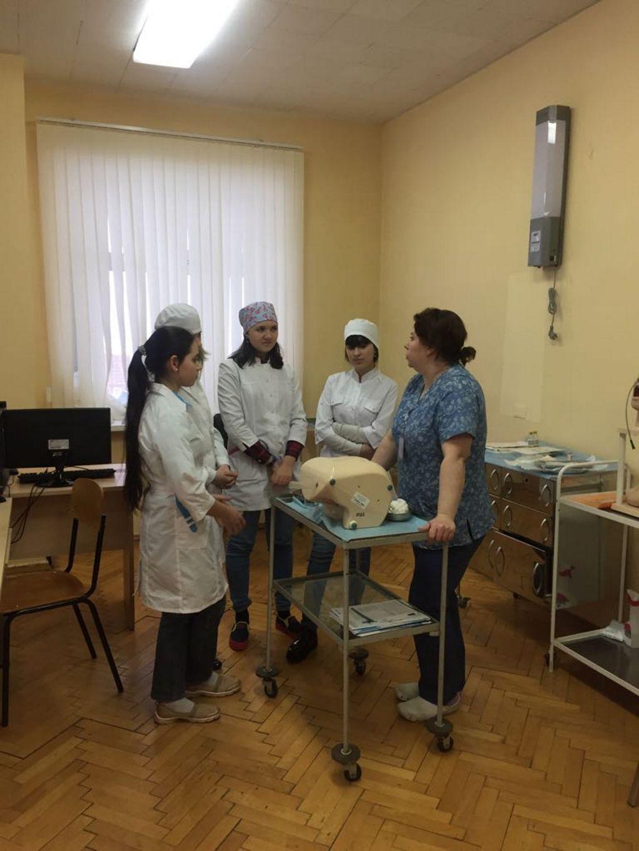 профессиональная практика учащихся 9-11-х медицинских классов