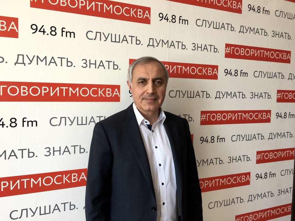 """выступление главного врача на радио """"Говорит Москва"""""""