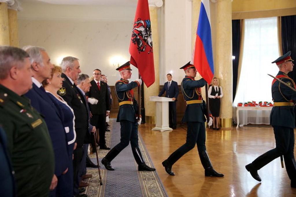 церемония награждения москвичей почетными наградами за заслуги перед городским сообществом