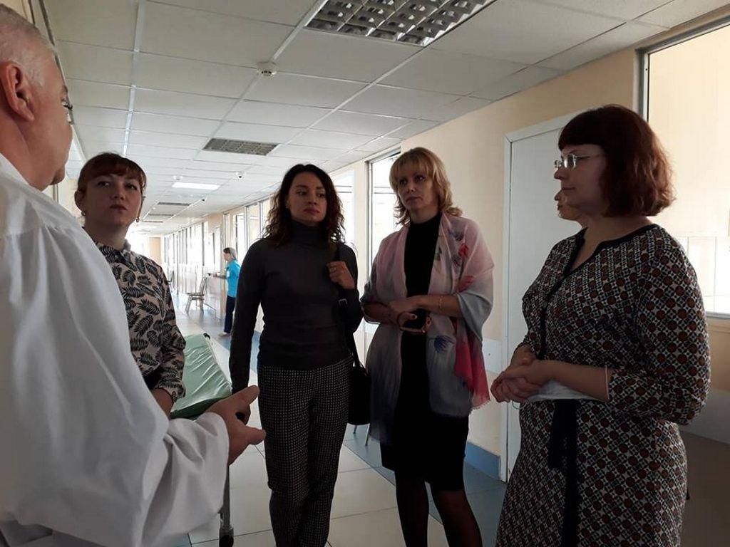 экскурсия по больнице
