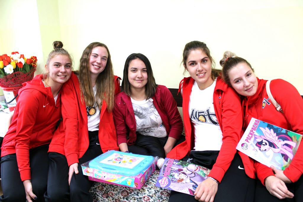 Встреча с командой Московской баскетбольной ассоциации