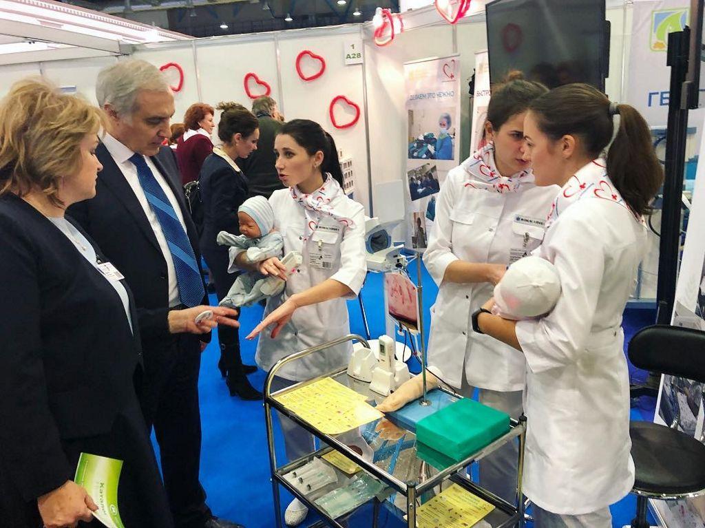 выставка 17 Ассамблеи Здоровье Москвы