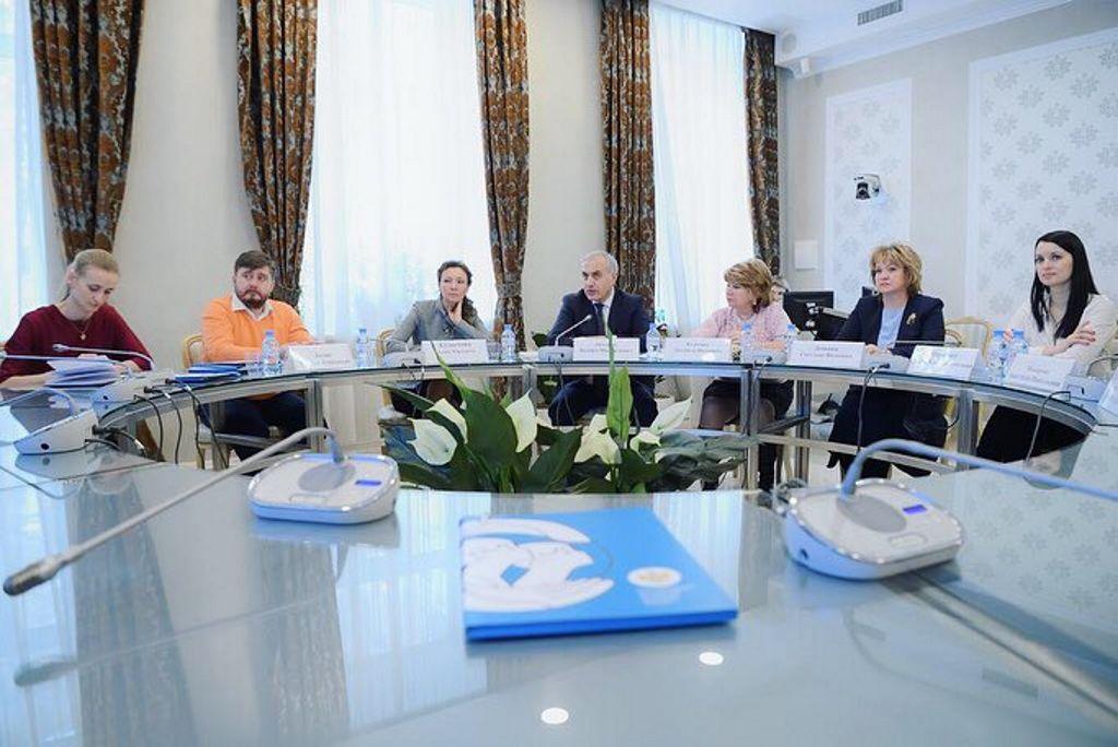 встреча с уполномоченным при Президенте Российской Федерации по правам ребёнка Кузнецовой Анной Юрьевной
