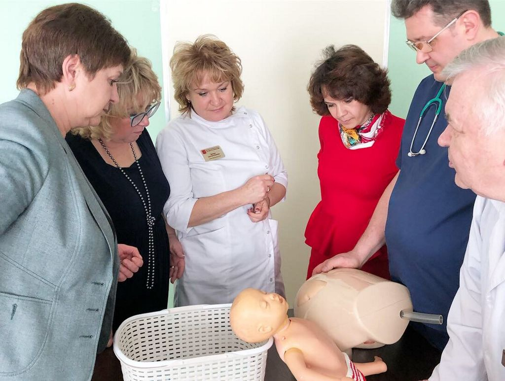 """новый образовательный проект для преподавателей """"Основы оказания первой медицинской помощи детям"""""""