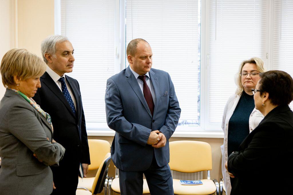 круглый стол во главе с мэром Москвы С. С. Собяниным