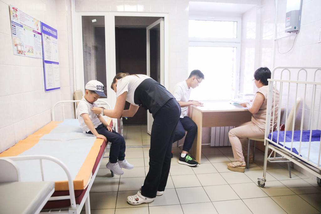 Больница им. З.А. Башляевой приняла тяжелобольных детей из Забайкалья на лечение по программе Национального центра «Область здоровья»