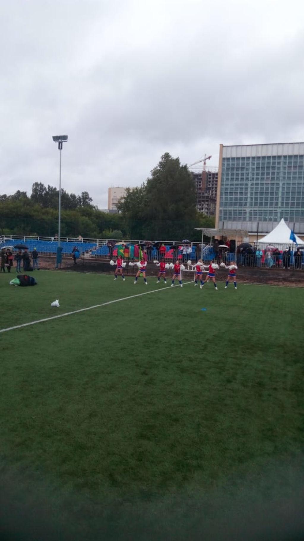 VI международный турнир по футболу среди медицинских работников