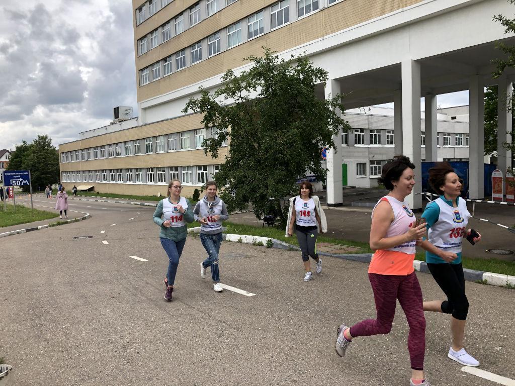 Сотрудники нашей больницы продолжают сдавать нормы ГТО по 12 видам спорта