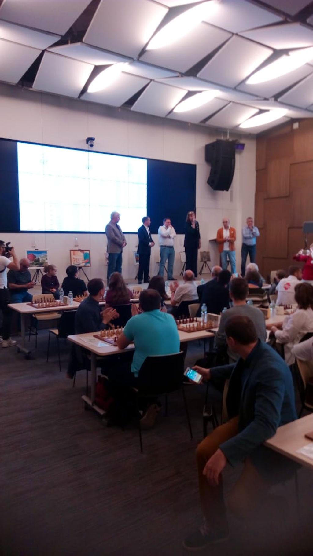 шахматный турнир между работниками больниц Департамента здравоохранения города Москвы