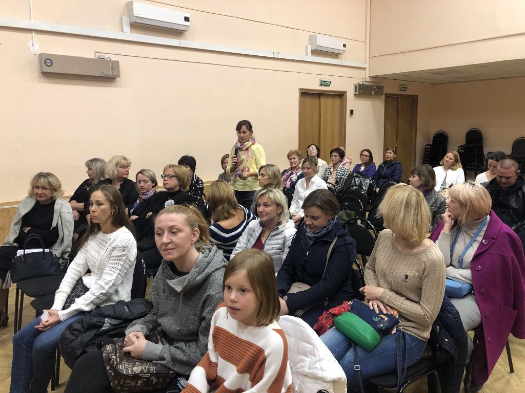 встреча сотрудников больницы с учителями и родителями детей школы N2097