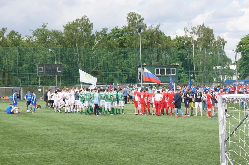 2-ой Международный турнир по мини футболу среди врачей