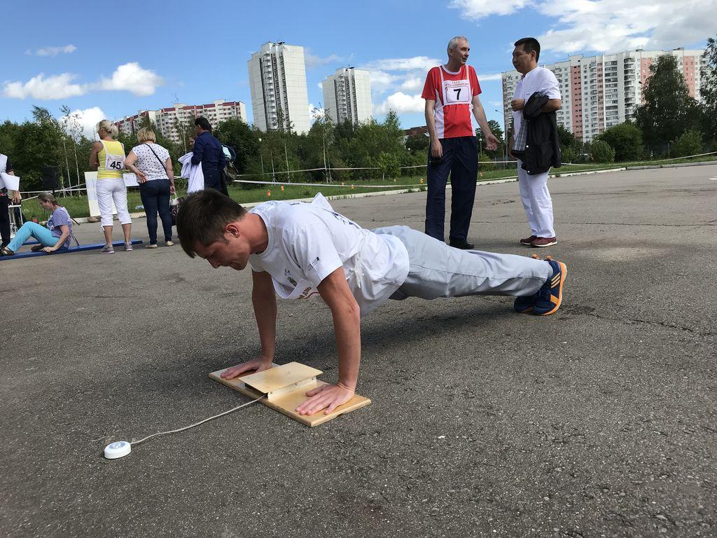 Спортивный фестиваль по сдаче норм ГТО