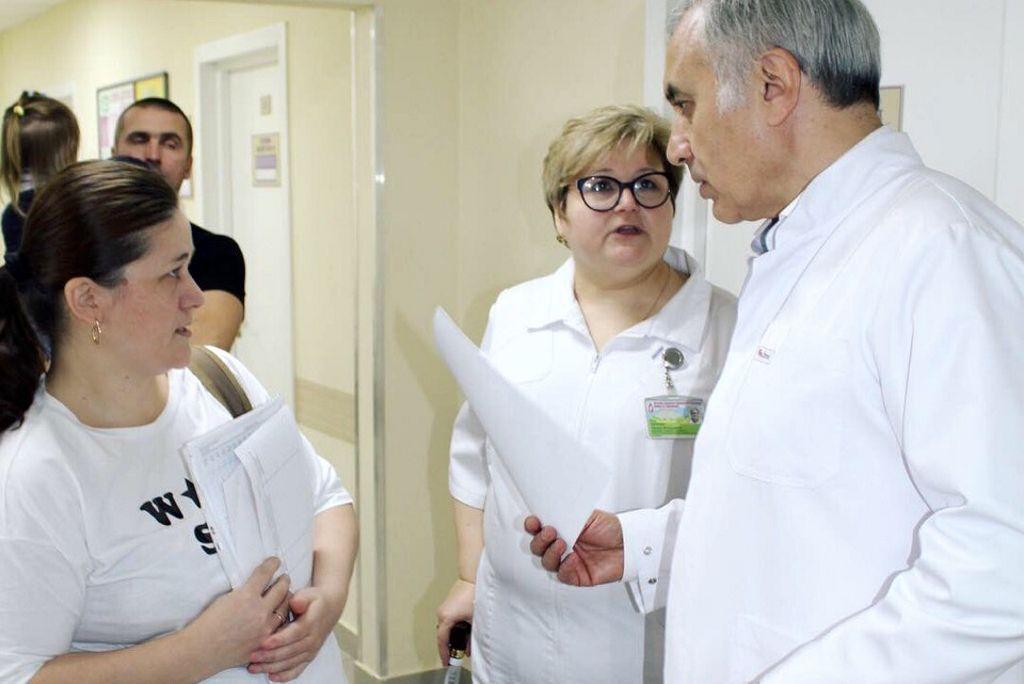 в детской больнице им. З.А. Башляевой прошёл очередной день открытых дверей
