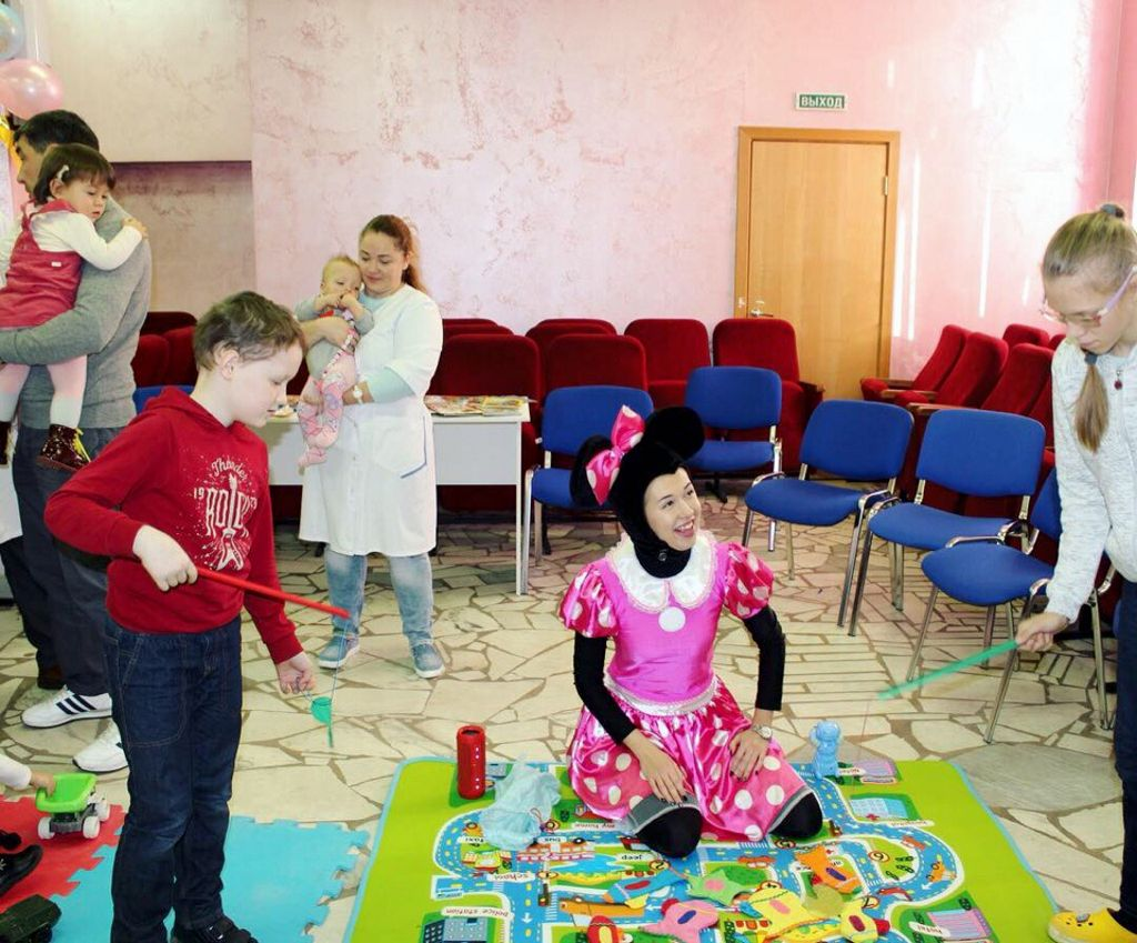 мероприятие, посвящённое Международному дню недоношенных детей