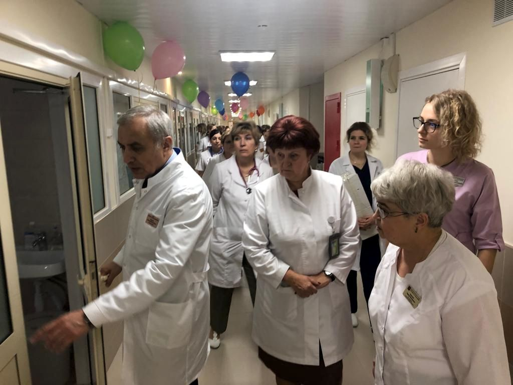 Мы открыли после ремонта отделение патологии для новорождённых детей