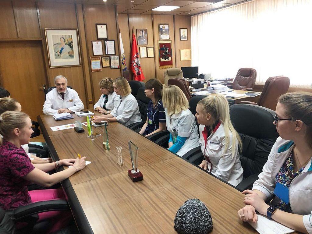 первое совещание обновлённого Молодежного совета больницы