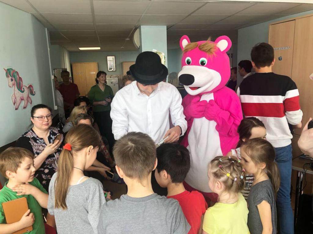 Сегодня в рамках проекта «Культурное наследие детям», мы провели «Книжный калейдоскоп», который прошел в 1 педиатрическом отделении