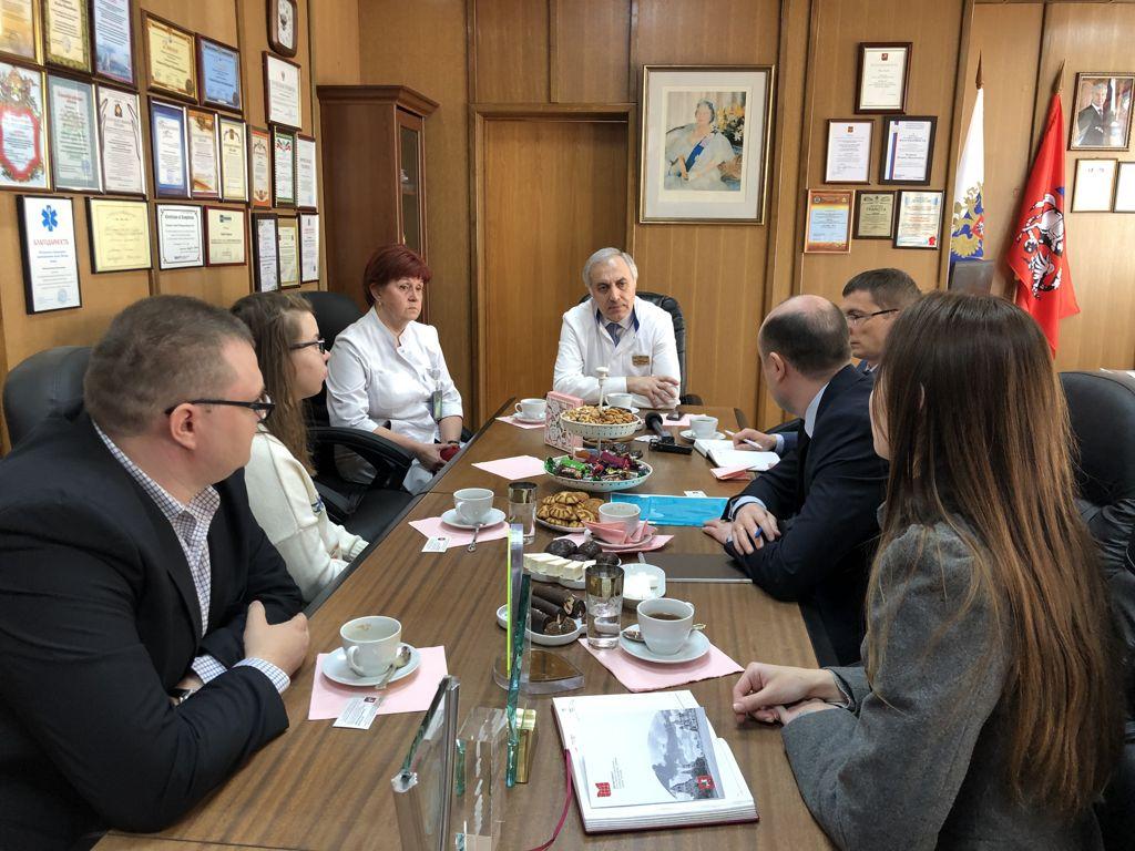 Вчера мы принимали высокую делегацию из Приднестровья в составе 3 заместителей министра здравоохранения