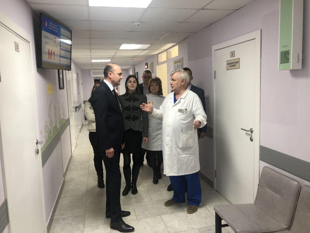 Вчера мы принимали высокую делегацию из Приднестровья в составе 3 заместителей министра здравоохранения. Зарубежные коллеги приехали перенять опыт оказания медицинской помощи детям.
