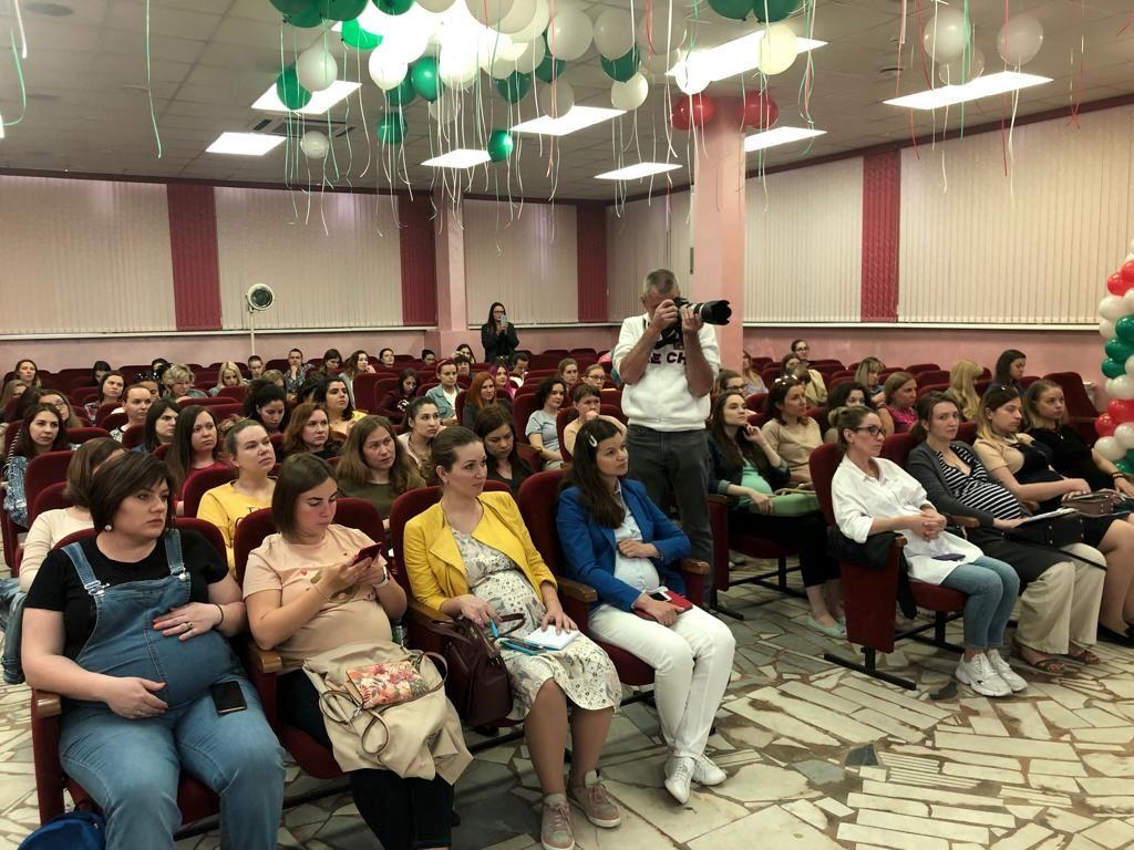 школа для беременных совместно с Татьяной Буцкой