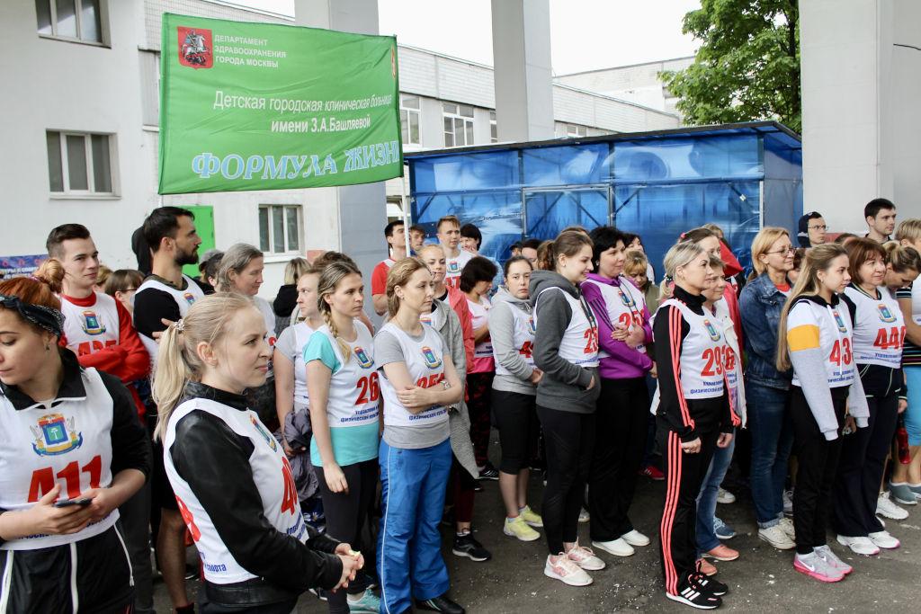 Спортивный фестиваль по сдаче норм ГТО по 12 видам спорта