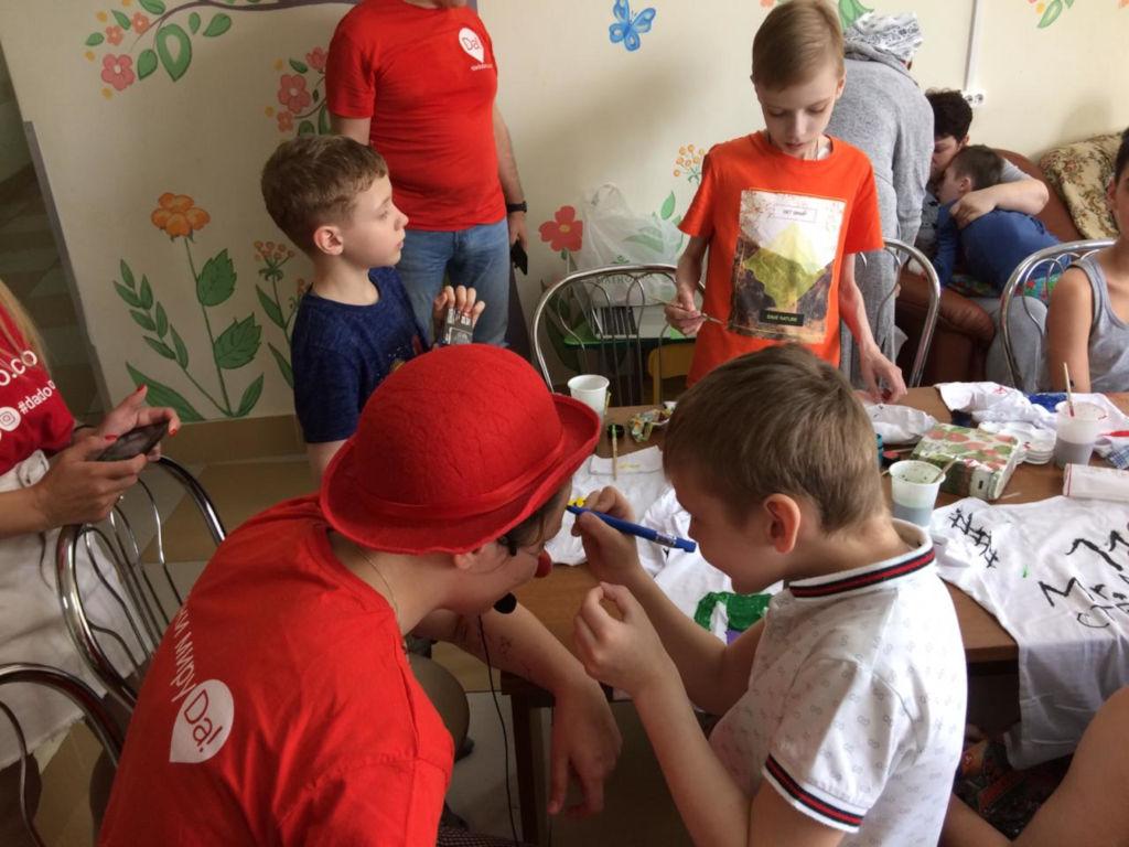 1 июня в хирургическом отделении состоялось мероприятие «Дари добро», в рамках дня защиты детей!