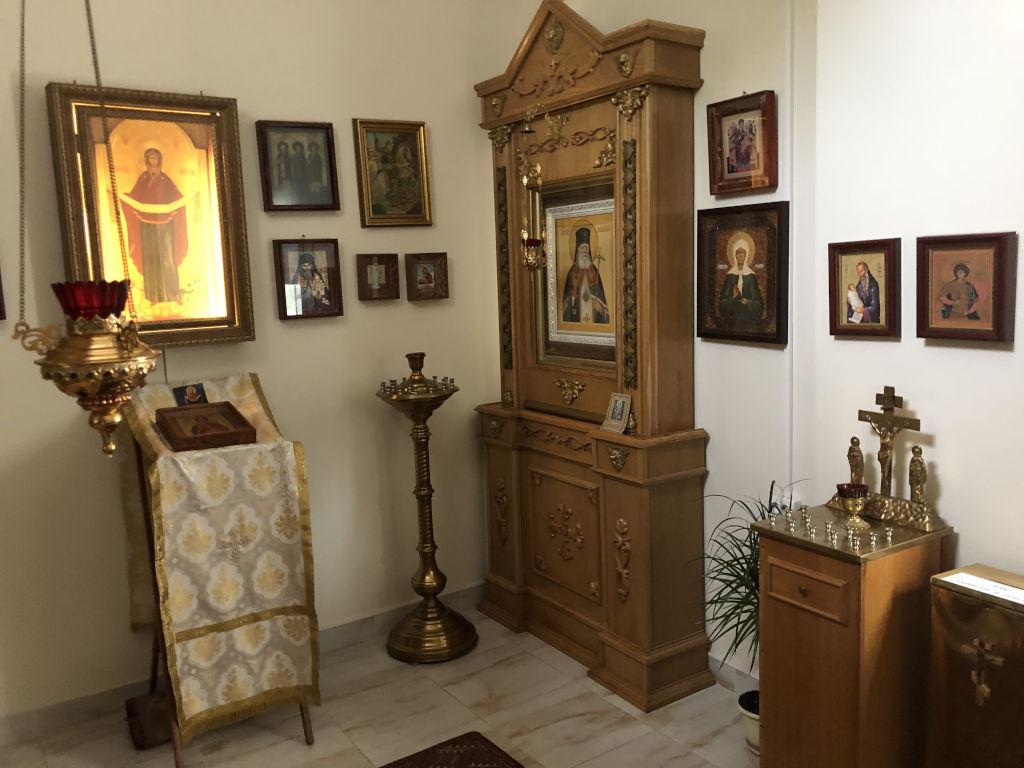 Сегодня состоялась встреча со Священником Владимиром из Православного прихода храма Преображения Господня в Тушине Московской епархии Русской Православной Церкви.