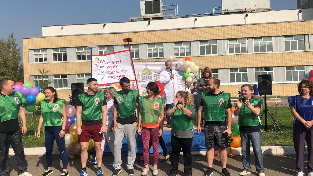 В ГБУЗ «ДГКБ им. З.А. Башляевой ДЗМ» прошли праздничные мероприятия, посвященные Дню города Москвы.