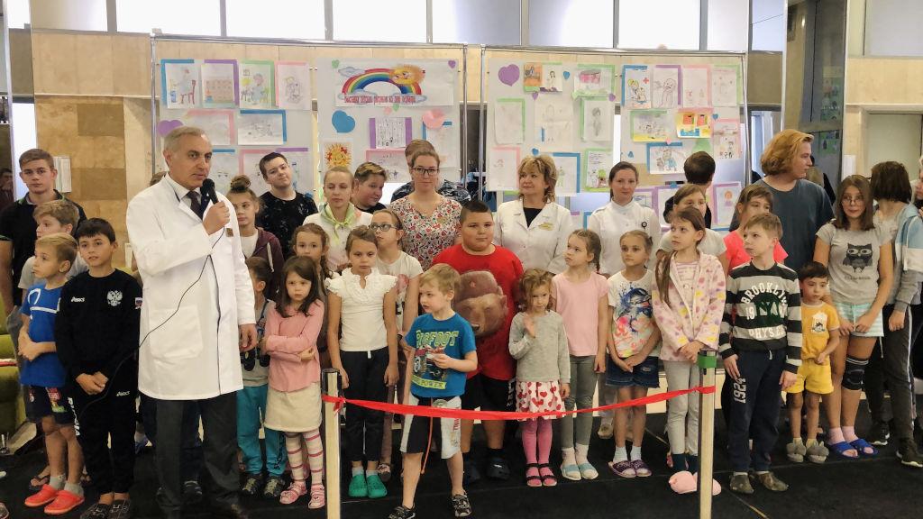 детская выставка «Детский врач глазами ребёнка»