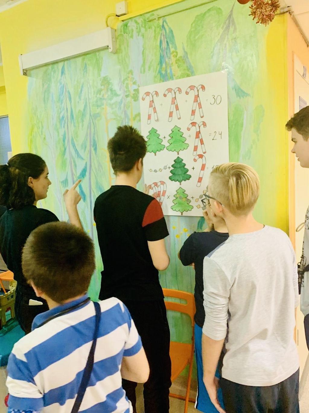 конкурс на лучшее праздничное оформление отделений среди школ СЗАО