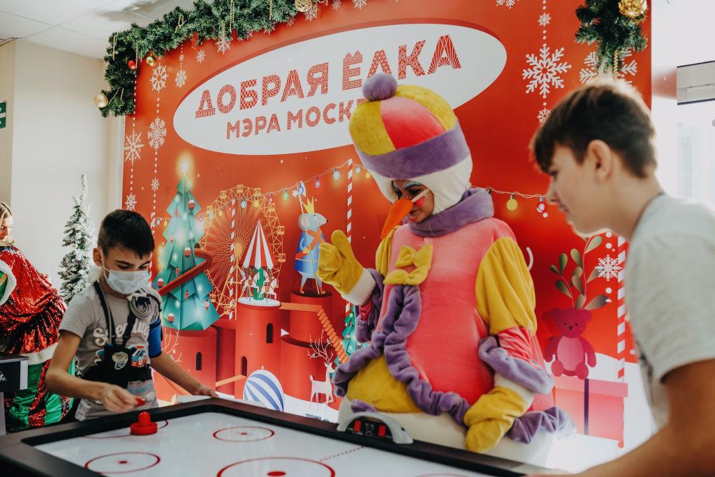 праздник «Добрая елка Мэра Москвы»