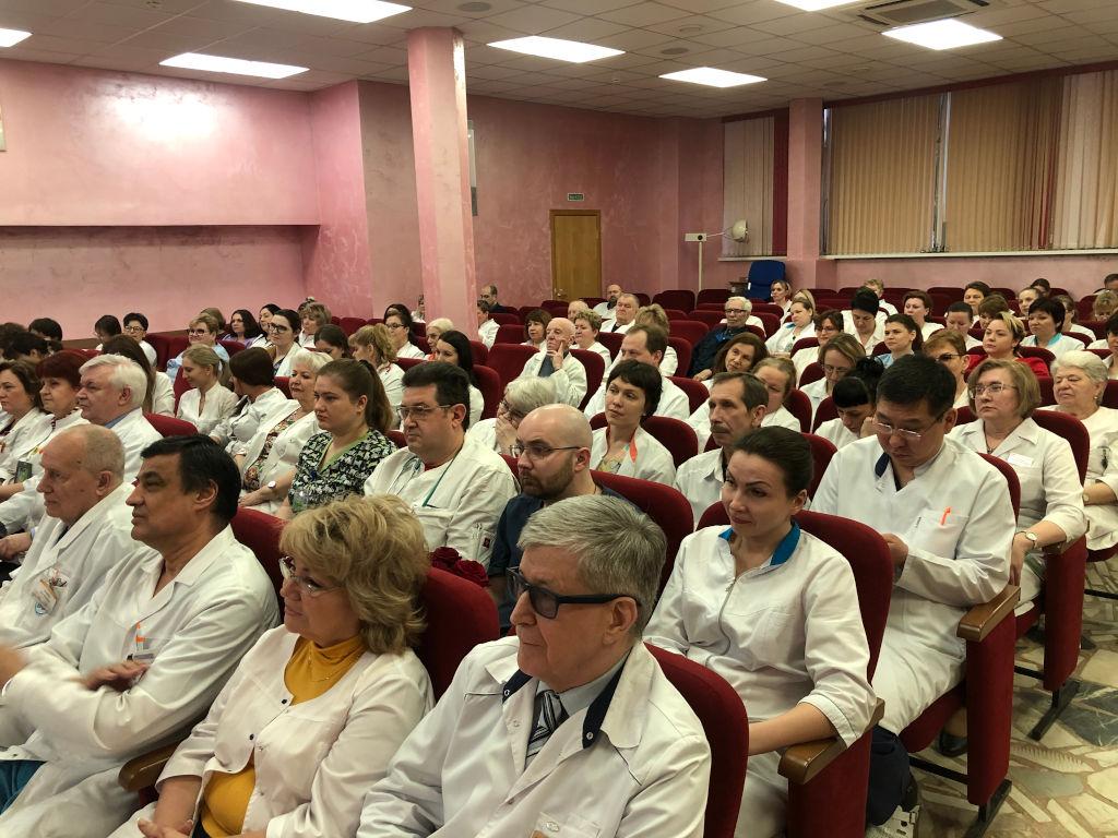 На XVIII ассамблее здоровая Москва был удостоен награды «Лучший специалист года - детский кардиолог» доктор медицинских наук, профессор Шарыкин Александр Сергеевич