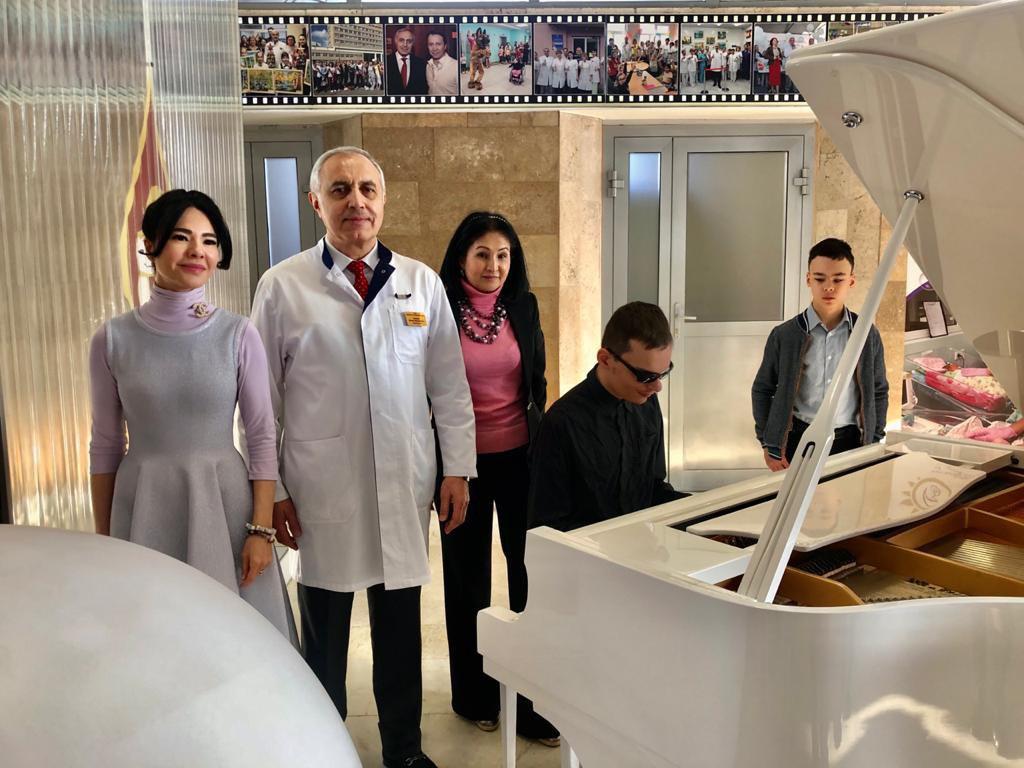 17 ноября в нашей больнице состоялись мероприятия, посвящённые проблемам здоровья детей, родившихся недоношенными