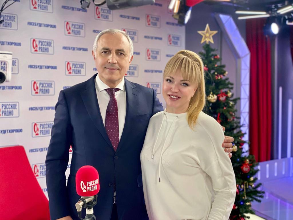 Вчера состоялась очень приятная и полезная беседа о здоровье детей на «Русском радио» в программе «Вечернее шоу Аллы Довлатовой».