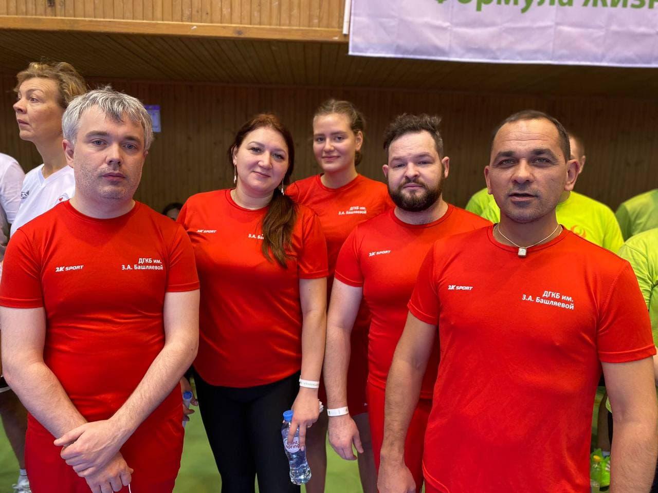 В спортивном комплексе МГТУ им. Н.Э. Баумана состоялся VIII чемпионат по бадминтону среди сотрудников медицинских организаций